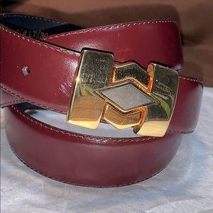 NWOT Made in Italy leather belt EC storage wear